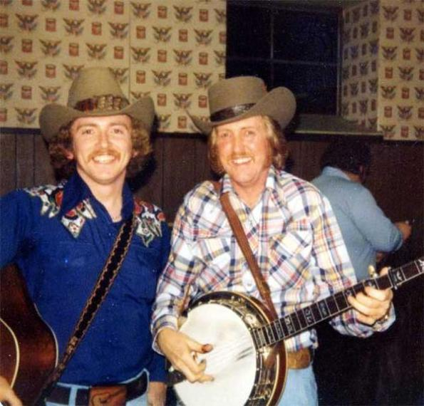 Keith Whitley with JD Crowe from Bluegrass Today