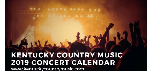 Kentucky Country Music Concert Calendar