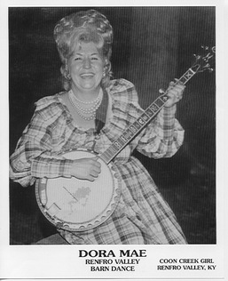 Dora Mae Wagers early publicity photo from Renfro Valley.