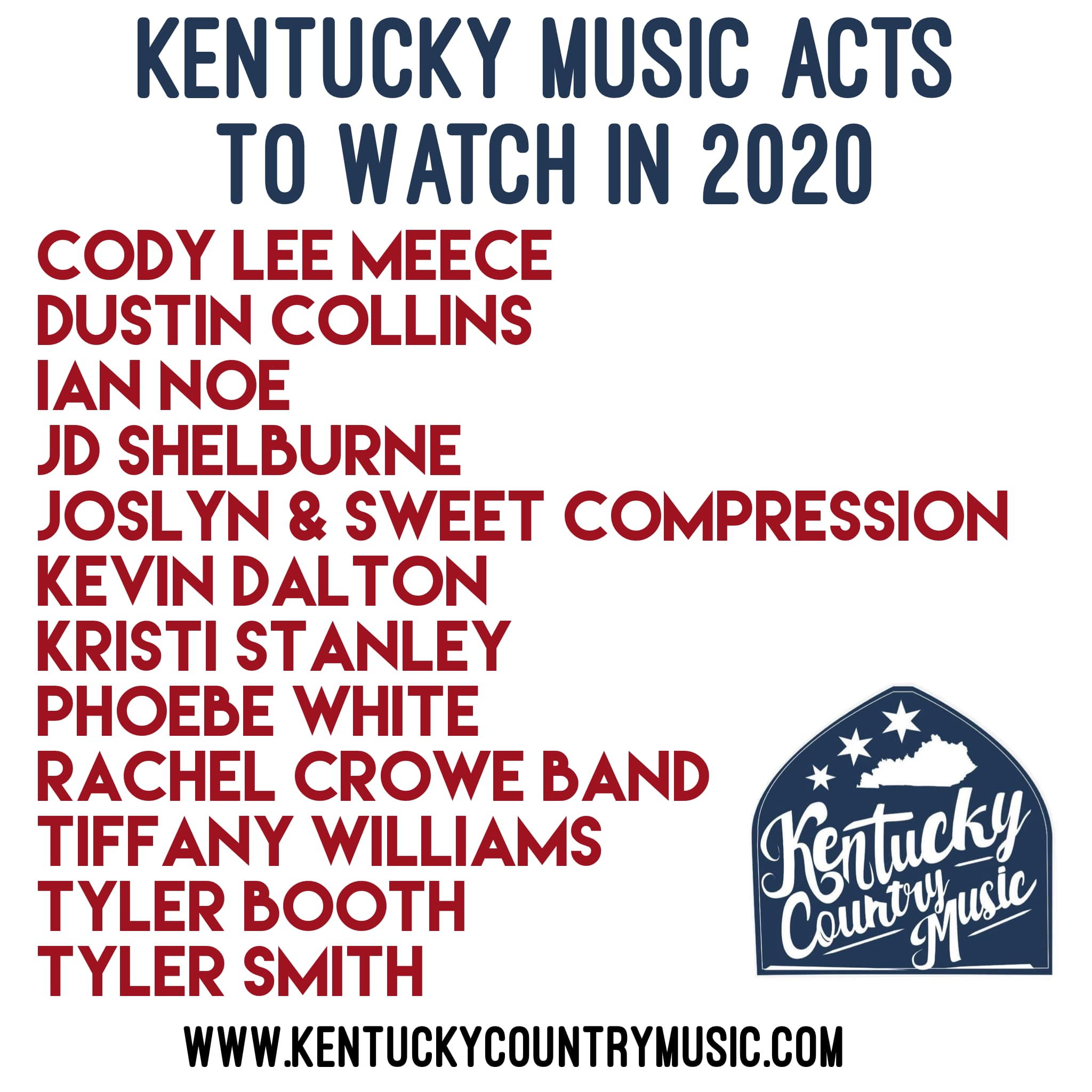 Introducing Kentucky music acts to watch in 2020