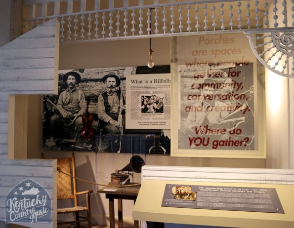 Exhibit space at the Birthplace of Country Music Museum. Photo by Jessica Blankenship.