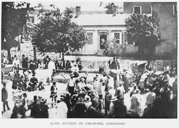 Slave Auction, Cheapside, Lexington
