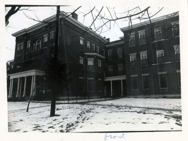Main Building, now demolished