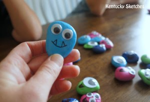 ROCK MONSTERS! Plus Tips for Making Crafting with Kids Less Stressful