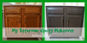 My Bathroom Vanity Makeover