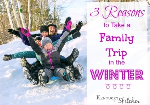 3 Reasons to Take a Family Trip in the WINTER