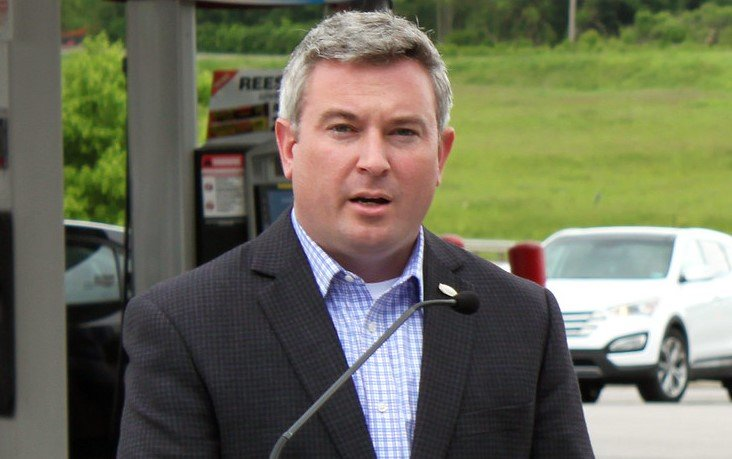 Agriculture Commissioner Ryan Quarles says inspectors will be checking for credit card skimmers. (Kentucky Today/Tom Latek)
