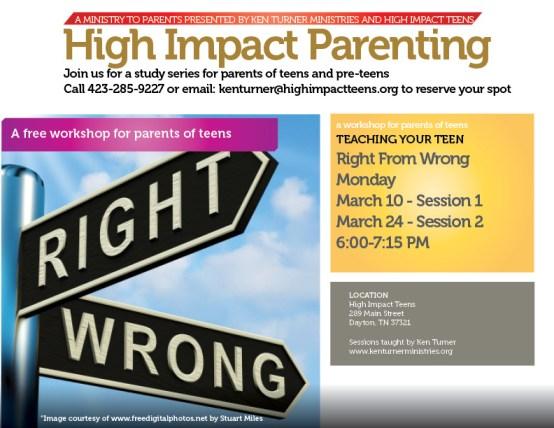 High Impact Parent Flyer Spring 2014