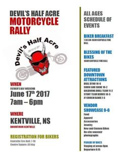 Devil's Half Acre Motorcycle Rally ~ June 17th