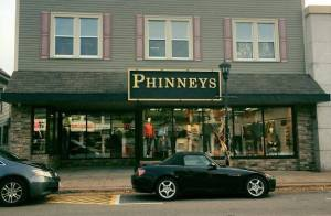 And A New Sign For Phinneys ~ Facade Program Phase 2