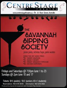 """The Savannah Sipping Society"" … Opening at CentreStage Theatre"