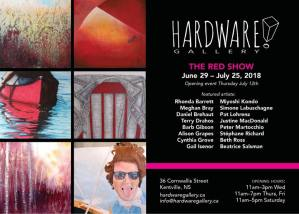 New Show at the Hardware Gallery ~ The Red Show