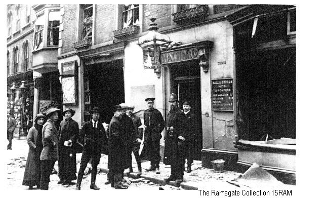 15RAM - Bomb Damage Ramsgate High Street