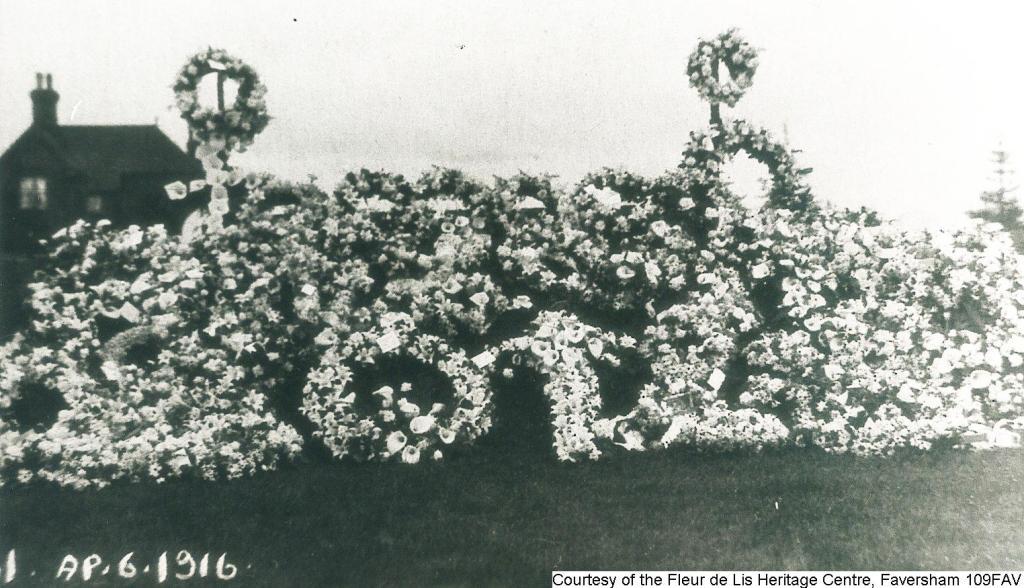 109FAV - Cemetery Mass Burial - Flowers
