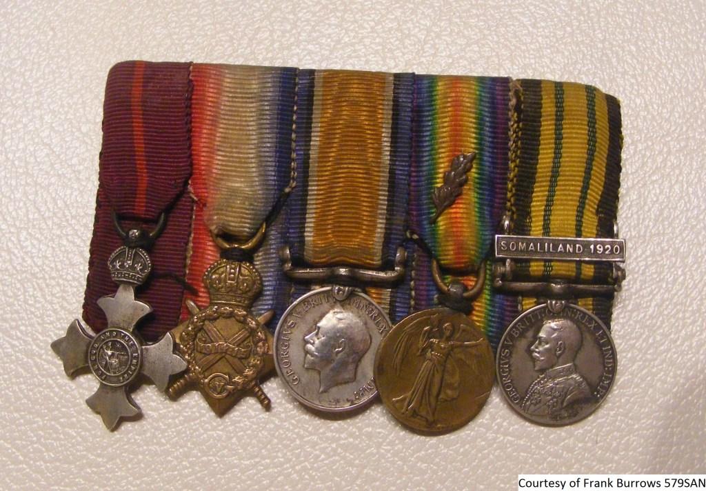 579SAN - Frank Jezzard WW1 Medals 2