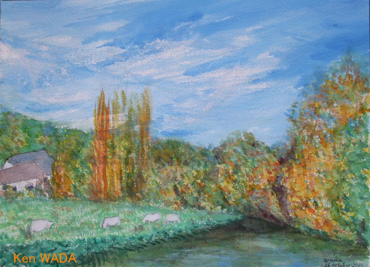 Paysage de La Vallee de L'Eure 17