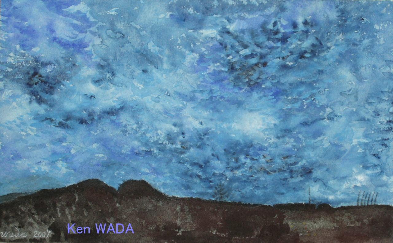 La nuit bleue de Maintenon 8 (The blue night of Maintenon 8)