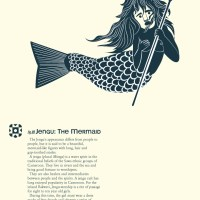 Jengu: the Mermaid from Africa #AtoZChallenge