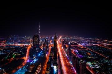 Dubai city skyline