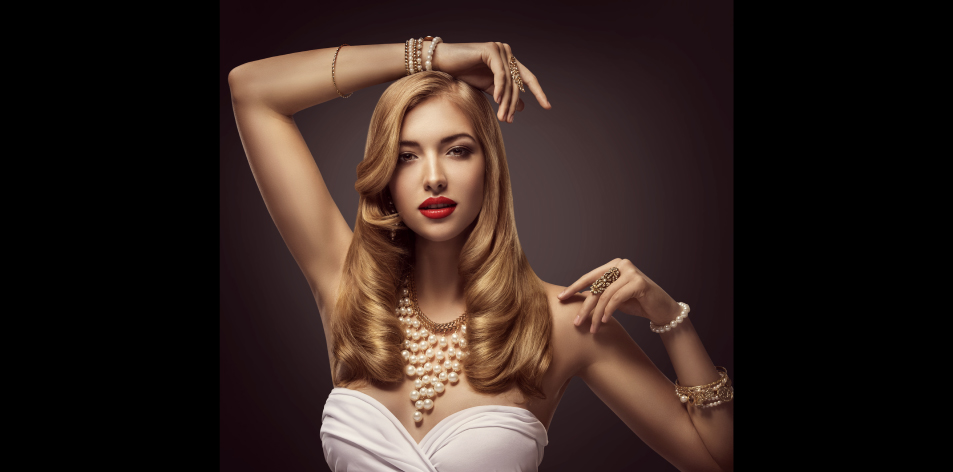 woman jewellery