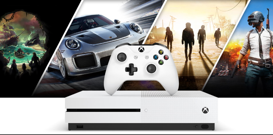 Microsoft Xbox One S 500GB + Forza Horizon 3 + Hot Wheels