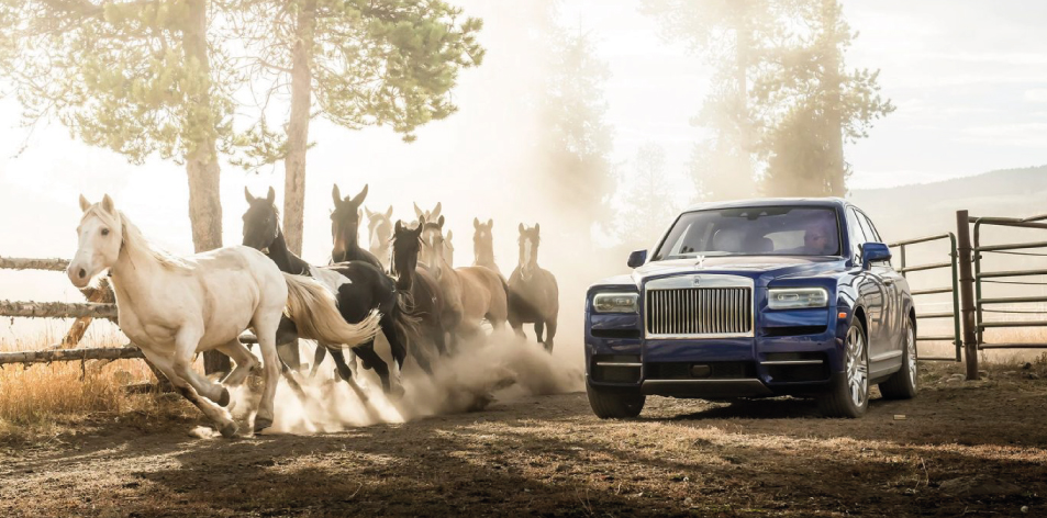 Featured Cullinan Rolce Royce
