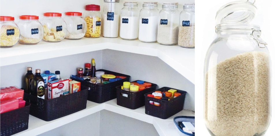 How To Achieve A Beautiful & Organized Pantry With Mabel