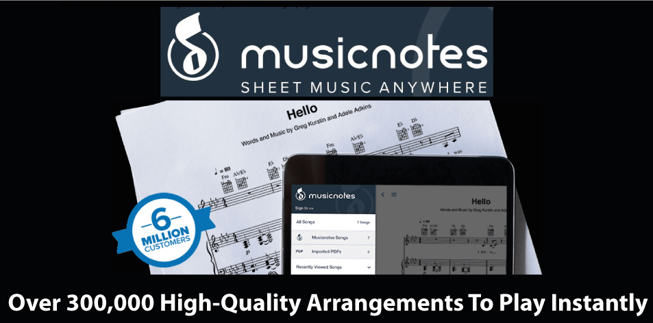 Are You A Musician Or Just Starting Off? Discover Musicnotes - Download Sheet Music Today
