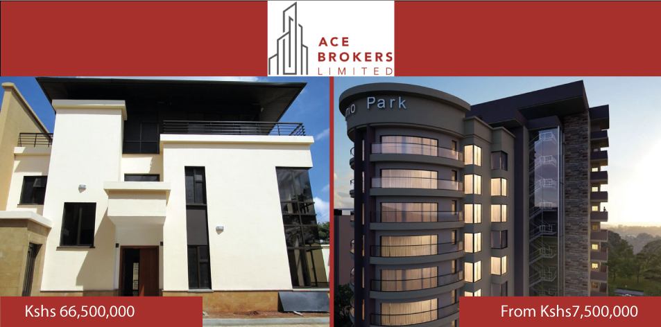 Ace Brokers Limited- Residential Properties For Sale!
