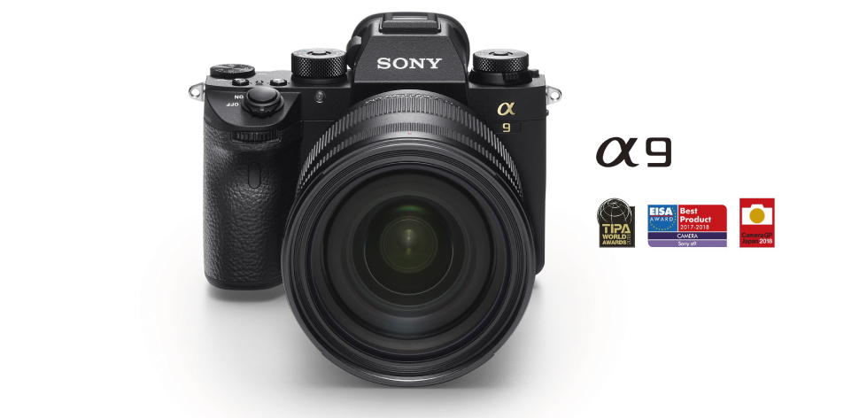 Sony α9 full frame mirrorless camera with stacked CMOS sensor