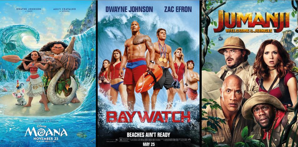 H&S Play & Win- Win Cinema Tickets With Anga Cinemas: Issue 59- Dwayne Johnson (The Rock)