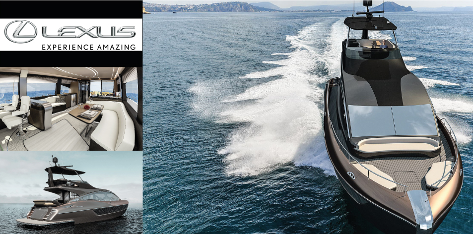 H&S Magazine Watercraft Of The Week- Lexus LY 650 Yacht: Global Debut