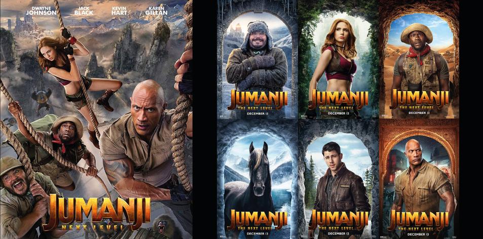 ANGA IMAX- 6th-12th Dec 2019- JUMANJI: THE NEXT LEVEL