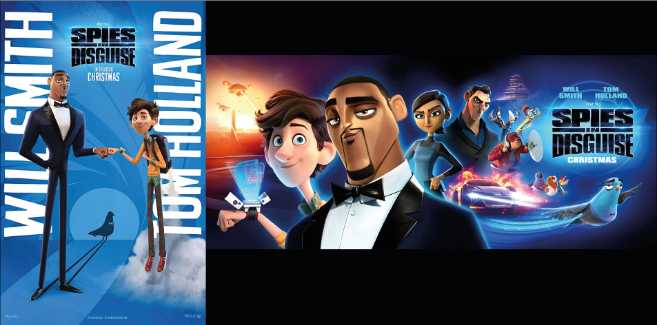 ANGA Panari Sky Center 20th-26th Dec 2019- Spies in Disguise
