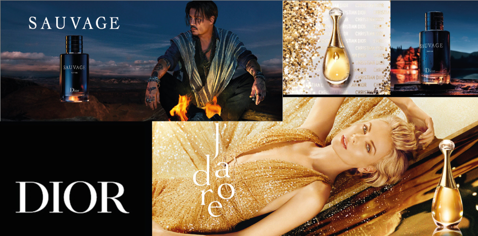 H&S Recommended Perfumes Of The Week, Christian Dior: Dior Sauvage For Him & J'adore For Her