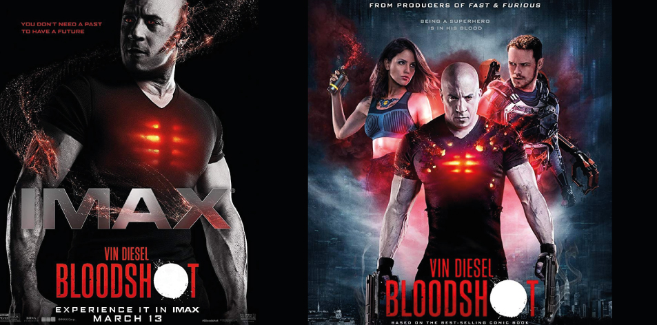 ANGA IMAX Cinema- 20th-26th March 2020- Bloodshot