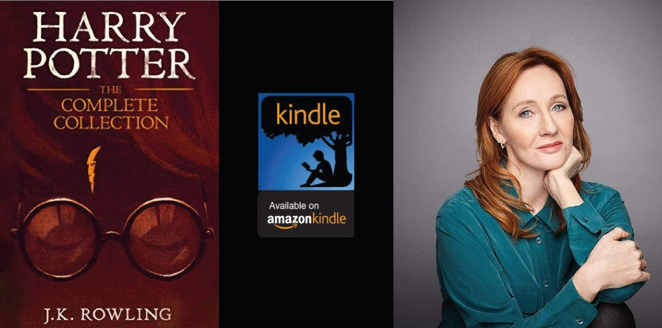 Amazon Kindle- H&S Magazine's Recommended Book Of The Week- J.K. Rowling- Harry Potter: The Complete Collection (1-7)