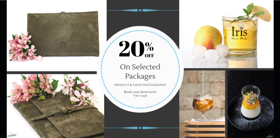 Deepali Malde Photography- 20% Off On Selected Photography Packages (Product, Food)