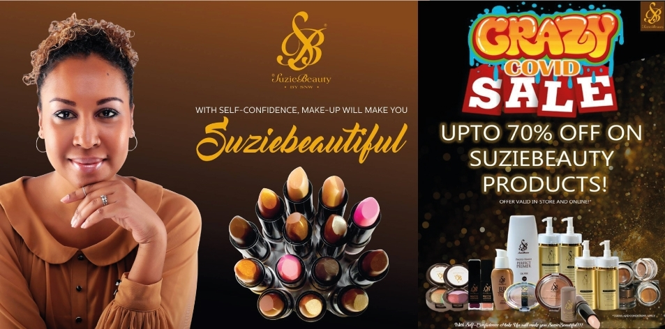 SuzieBeauty: CRAZY COVID SALE- Up to 70% Off On SuzieBeauty Products