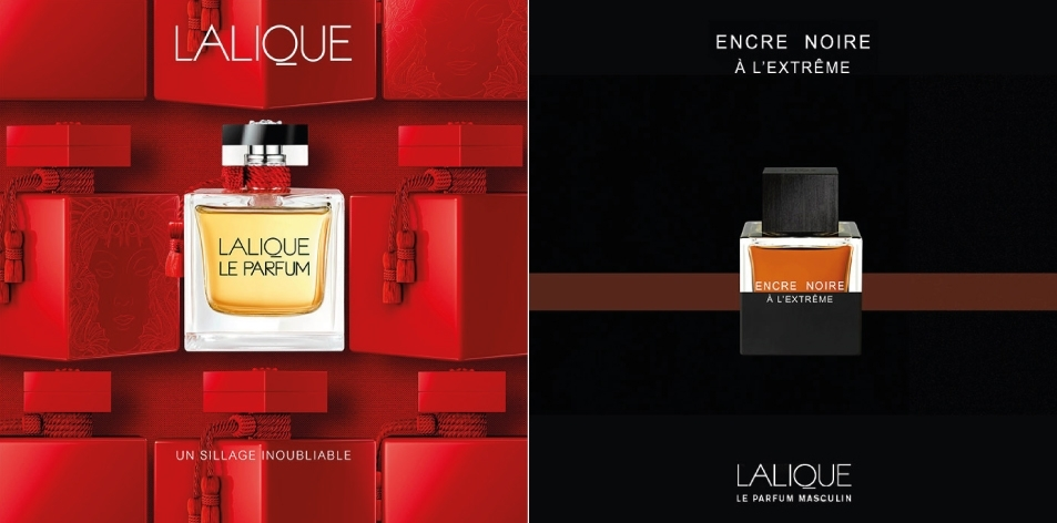H&S Recommended Fragrance of The Week- LALIQUE- For Him: ENCRE NOIRE À L'EXTRÊME, EAU DE PARFUM & For Her: LALIQUE LE PARFUM, EAU DE PARFUM