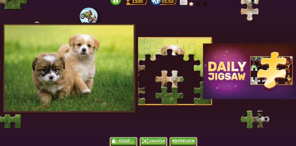 H&S Kill Time- Online Game Of The Week- Daily Jigsaw