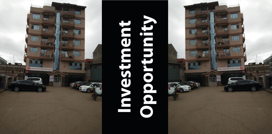 Investment Opportunity Think Twice Apartment Building, Rental Income Of Kshs 1,040,000