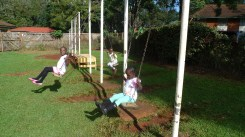 Swinging at Kitale Club