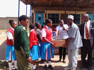 Gifting prisoners with toiletries