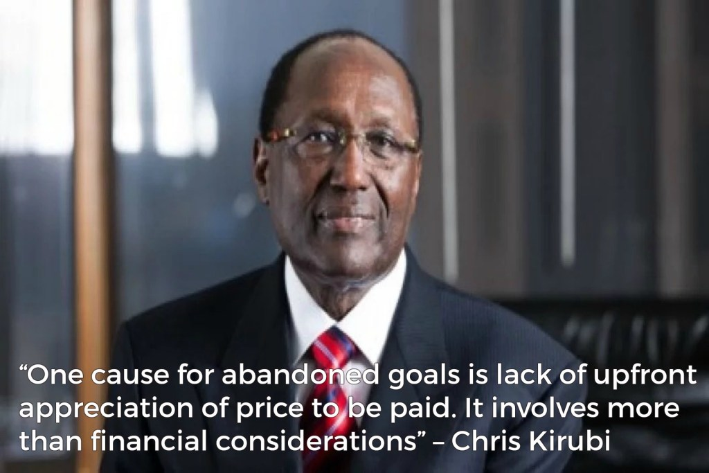 Chris Kirubi Rules and Lessons to Success in business and life