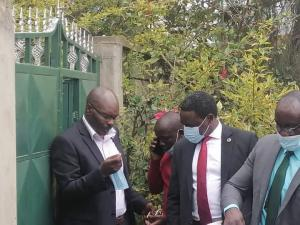 Bomet Senator Christopher Lang'at who was arrested today over incitement charges