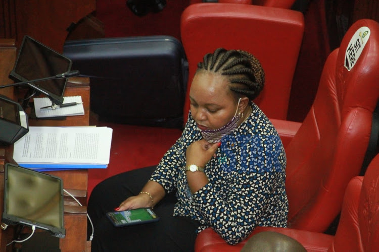 Kirinyaga County Governor During Senate Impeachment Hearing
