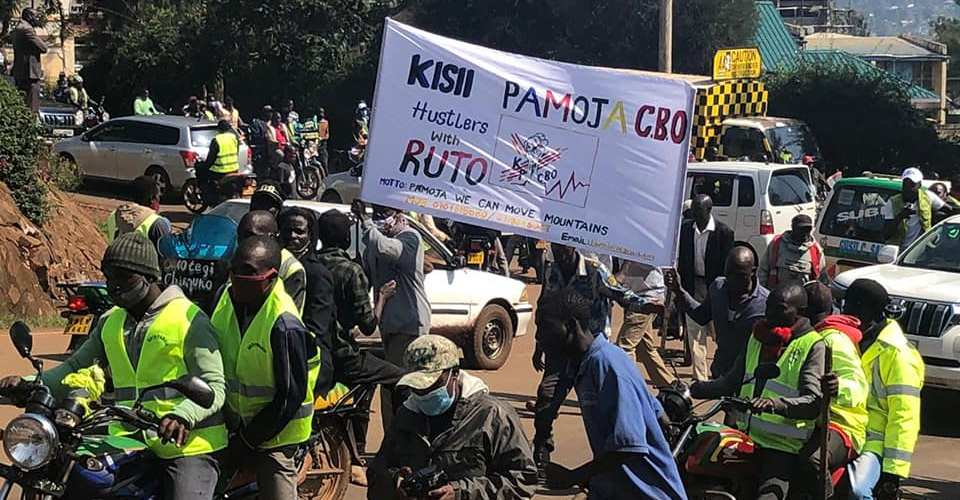 Protests erupt in Kisii ahead of Ruto visit
