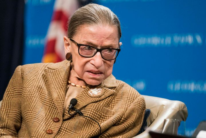 Ruth Bader Ginsburg died Friday aged 87