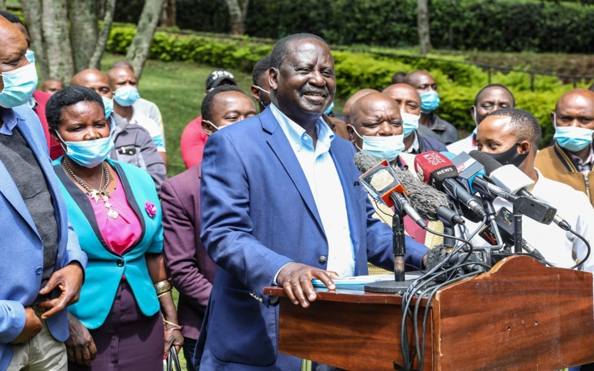 RAILA lands in trouble for demanding Sh1 million from anyone wanting to challenge him for the ODM ticket – ODM has become one big pyramid scheme